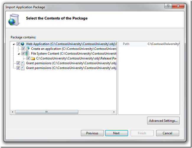 Select_the_Contents_of_the_Package_dialog_box_Prod