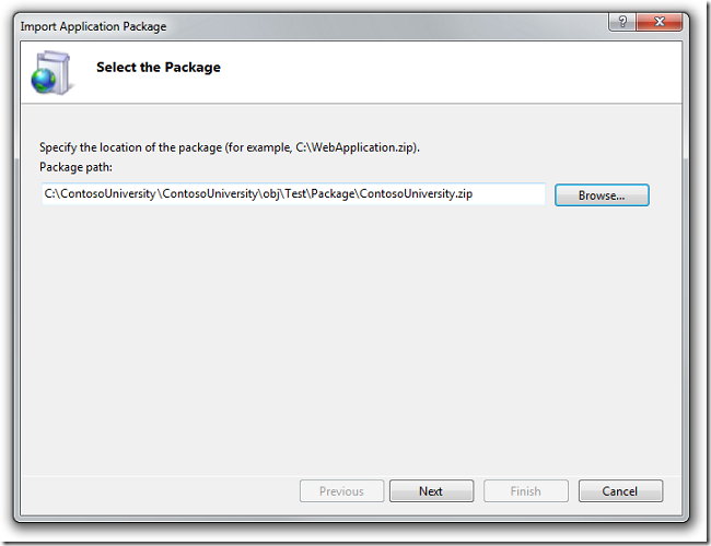 Select_the_Package_dialog_box