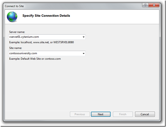 Specify_Site_Connection_Details_dialog_box